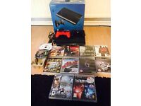 PS3 with a bundle of games