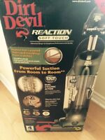 New dirt devil reaction soft touch vacuum cleaner