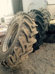 15.5x38 bias, 18.4x38 used radial tractor tires