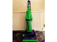 DYSON DC07 FULLY SERVICED MINT CONDITION 6 MONTHS WARRANTY GREEN