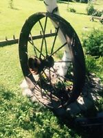 Old wagon wheels for sale