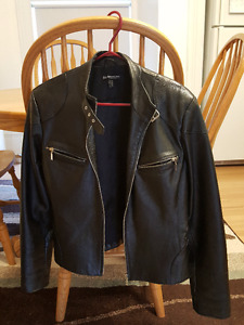 Bandolera Leather Biker Jacket