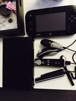 Wii U 32gb with 3 games and 2 handles
