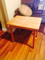 Solid Maple Coffee Table / End Table
