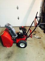 Master craft snowblower