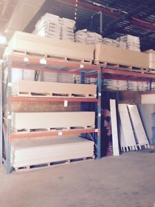 4x8 slat-wall panels and accessories