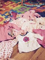 Baby girl clothing lot 0-3 months