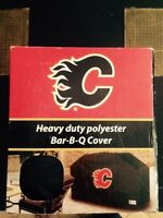 Calgary Flames barbecue cover