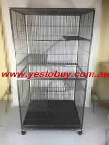 1.8M 5 Level Pet Ferret Cage Cat Hamster Rat Bird Budgie Aviary Oakleigh Monash Area Preview