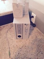 Radio boom box FM to play any devices  2 speakers 1 Subwoofer
