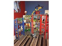 ELC wooden fire station and accessories