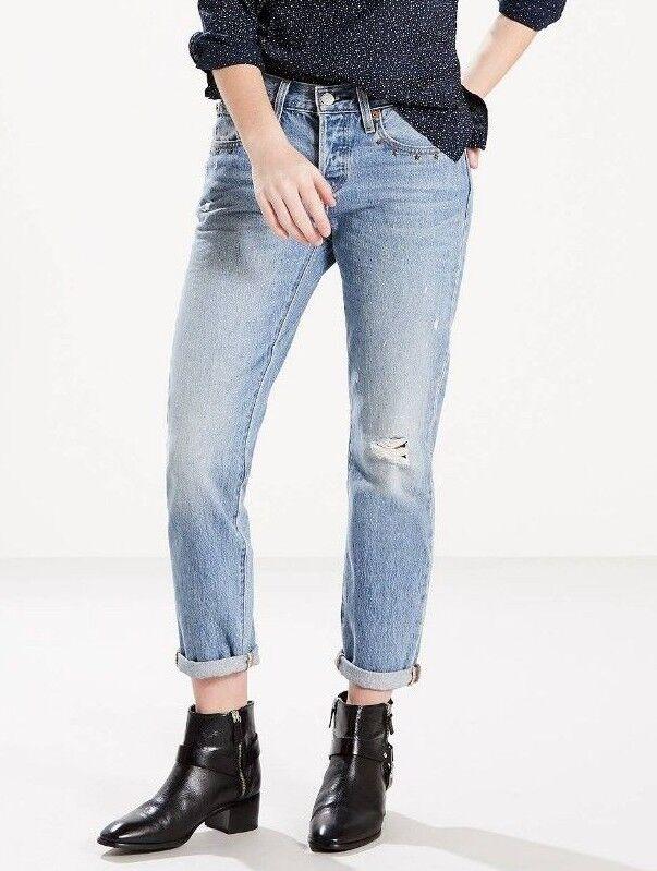 NWT Mislabelled levis women 501 Taper 100% Cotton Jeans Butt