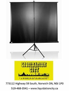 "BRAND NEW  84"" Elite Projector Screen - 4:3 format"