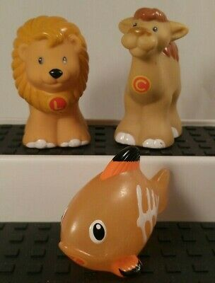 Fisher Price Little People A to Z Learning Zoo Replace Lion Camel X Ray Fish L C