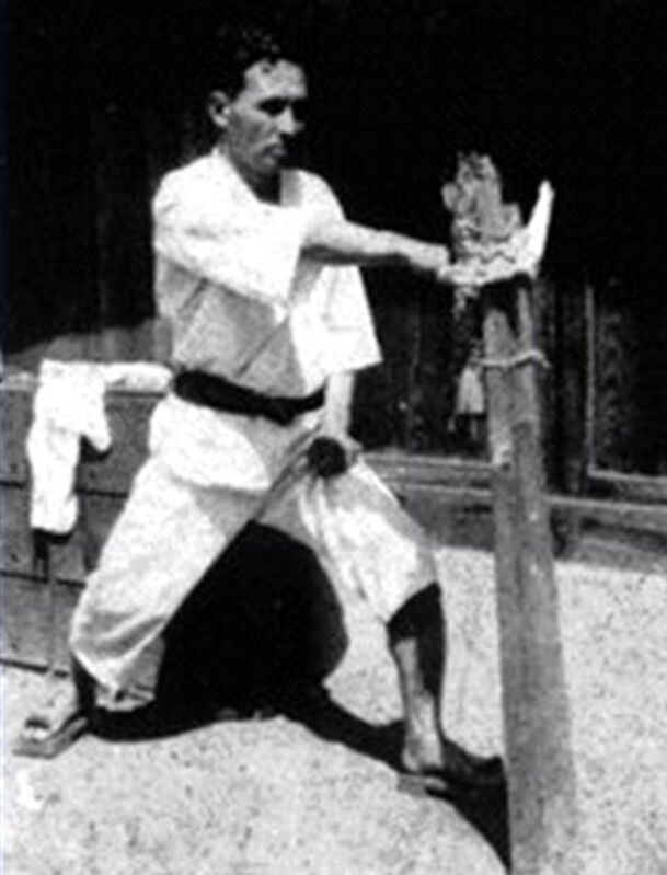 Kung Fu Wall Mounted Oak Makiwara MMA Martial Arts Hojo Undo Karate