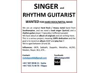SINGER WANTED !!!