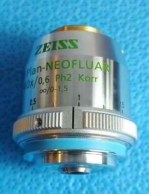 Zeiss Ld Plan-neofluar 40x 0.6 Ph2 Korr Microscope Objective Infinity0-1.5