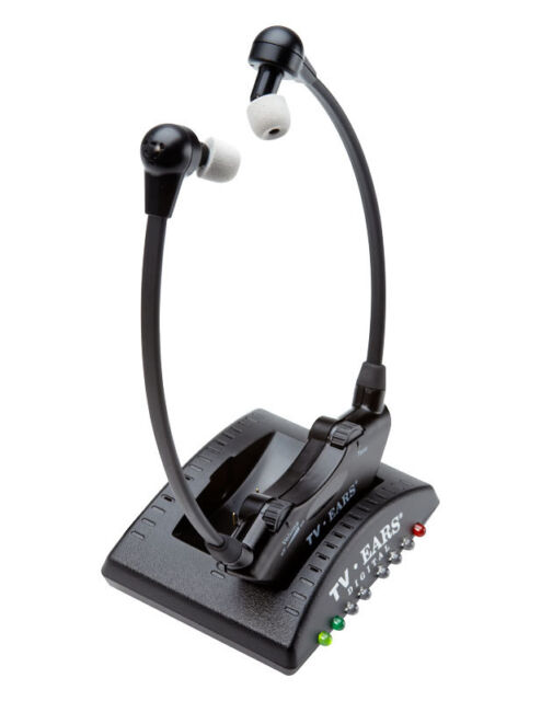 TV Ears Version 5.0 Analogue Wireless Infra Red TV Headphone System
