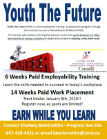 Free Disability Employment Program - Youth the Future January 8