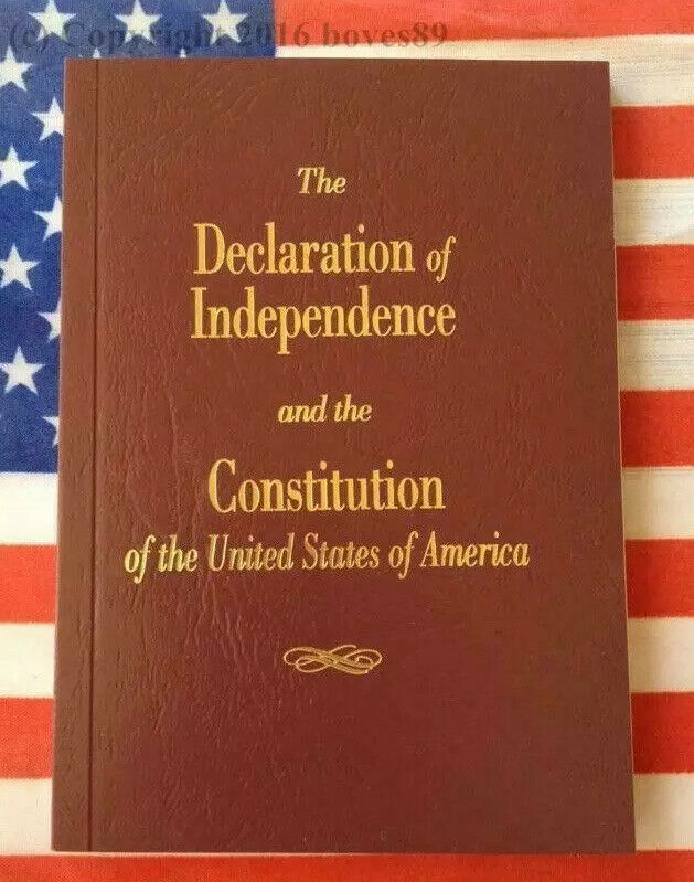 U.S. Pocket Constitution Declaration Of Independence USA Bill Of Rights New 🆓📬