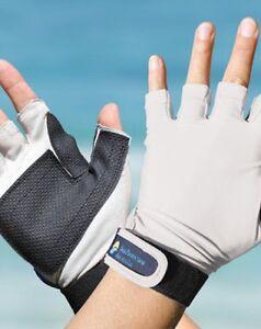 Sport gloves upf50 skin sun protection kayaking fishing for Fishing sun gloves