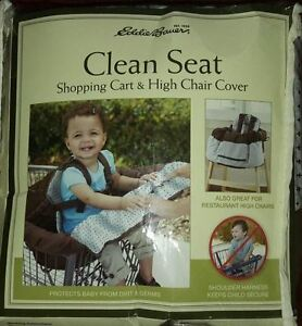 Brand-New-Eddie-Bauer-Clean-Seat-Shopping-Cart-Cover up