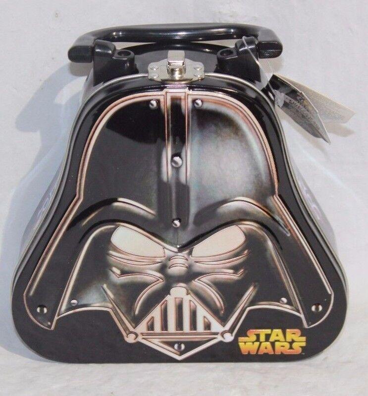 Star Wars Darth Vader Shaped Lunch Box Metal Collectible Tin (DNT U-2 FLR) #2