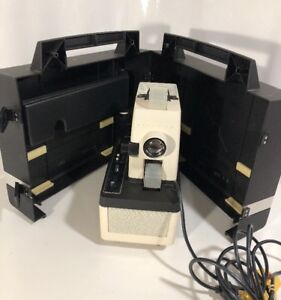 Dukane Micromatic II 28A81C Sound Filmstrip Projector with Case - Vintage