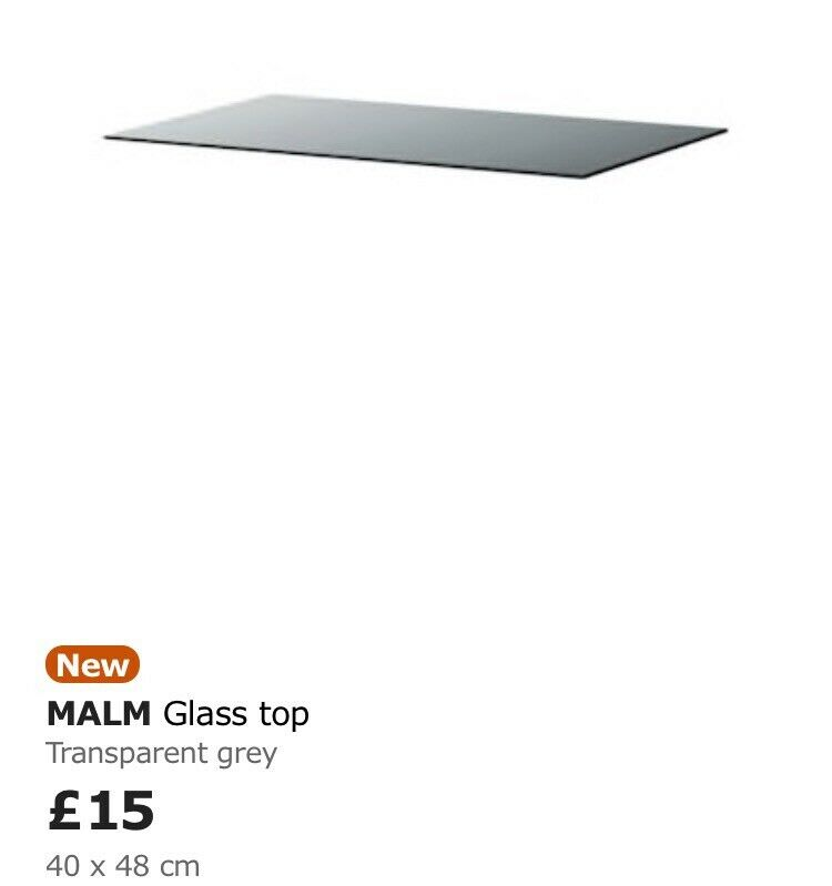 Malm glass tops   in Timsbury, Somerset   Gumtree