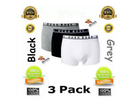 Hugo Boss, CK Boxers £4.50 for pack of 3 items.