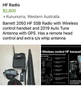 Barrett HF Radio Kununurra East Kimberley Area Preview