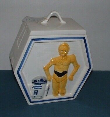 Used, *DARTH VADER, C3PO & R2D2 2 SIDED COOKIE JAR - SIGMA - EXCELLENT CONDITION for sale  Twin Falls