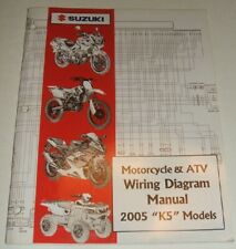 2005 SUZUKI WIRING DIAGRAM MANUAL GSXR GSX DR VS GSF VS ...