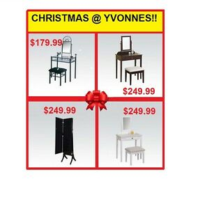 VANITIES AND JEWELLERY CASES @ YVONNE'S CHRISTMAS SALE