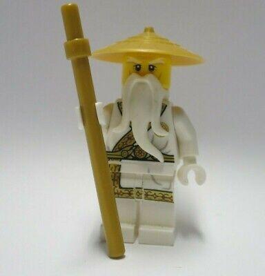 Sensei Wu - Gold Outfit 5004856 Secret World Ninja Ninjago Lego Minifigure