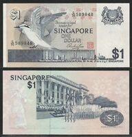Singapore - 1 Dollar 1976 Unc Pick 9 -  - ebay.it
