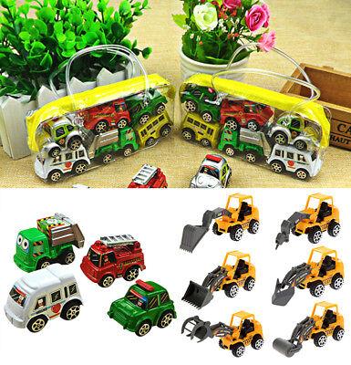 Mini Toy Cars ( 6Pcs/set cute Mini Toy Cars Gift Car Set Vehicle Toys Children Educational)