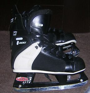 CCM TACKS 159 PRO 3 LITE HOCKEY SKATES SIZE 6 - LIKE NEW