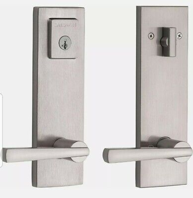 Baldwin Spyglass Prestige Series 91830-001 Satin Nickel Handleset Smart Key Lock