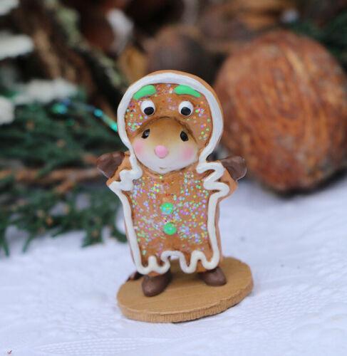 Wee Forest Folk M-703 Gingerbread Boy NEW (2020)