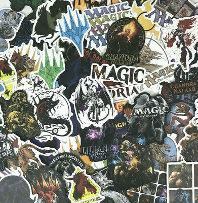 50pc MTG Magic The Gathering Notebook Laptop PC Phone Decal Collectible Stickers