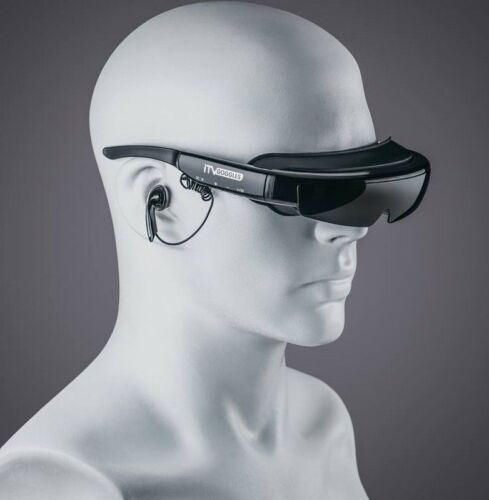 """NEW iTVGoggles Smart 92"""" Virtual WideView 3D+ Video Glasses iTV Goggles"""