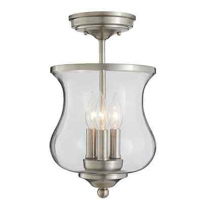 Semi Flush Lantern - Semi-Flush Lantern Ceiling Light Fixture Hanging Hallway Lamp Kitchen Lighting