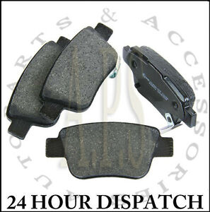 toyota avensis corolla verso rear axle car brake pads set new ebay. Black Bedroom Furniture Sets. Home Design Ideas