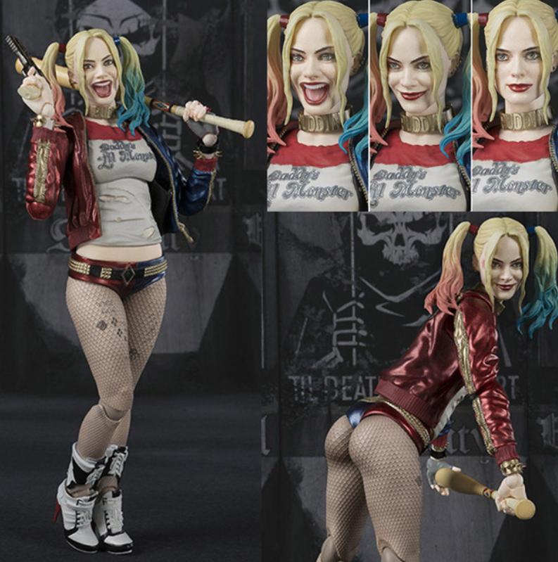 "6"" Suicide Squad Harley Quinn PVC Action Figure Collection M"