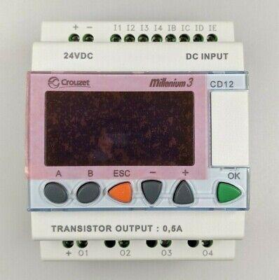 New 24vdc Crouzet Millenium 3 Plc Logic Controller