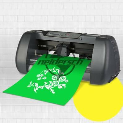 14 Vinyl Cutter Plotter Machine 375mm Paper Feed Sign Sticker Making Machine