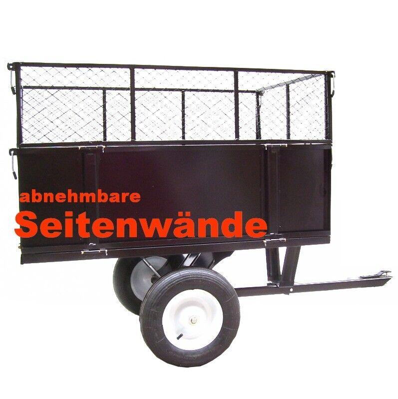 kippanh nger 300kg aufsitzm her rasentraktor kippbar atv quad h nger anh nger picclick de. Black Bedroom Furniture Sets. Home Design Ideas