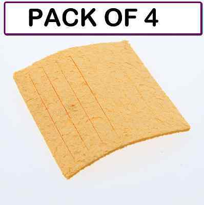 Pack Of 4 Weller Tc205 Solder Cleaning Sponge For Ph Series Stands