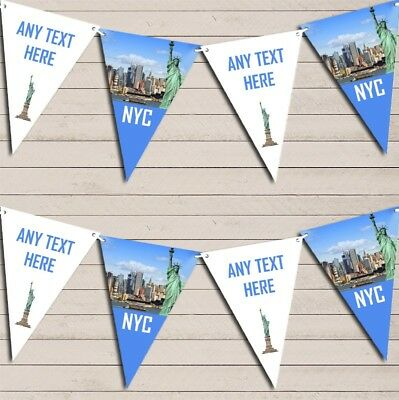 NYC New York City Birthday Bunting Garland Party Banner ()